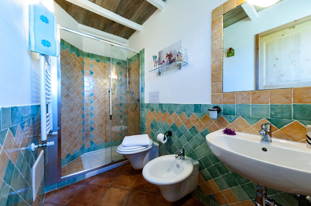 Bagno in camera, doccia e servizi