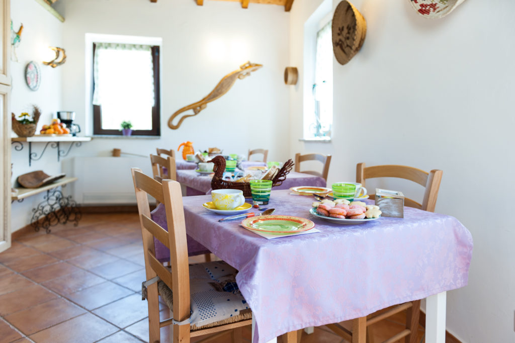 Bed and Breakfast il Cuore di Gallura: la cucina