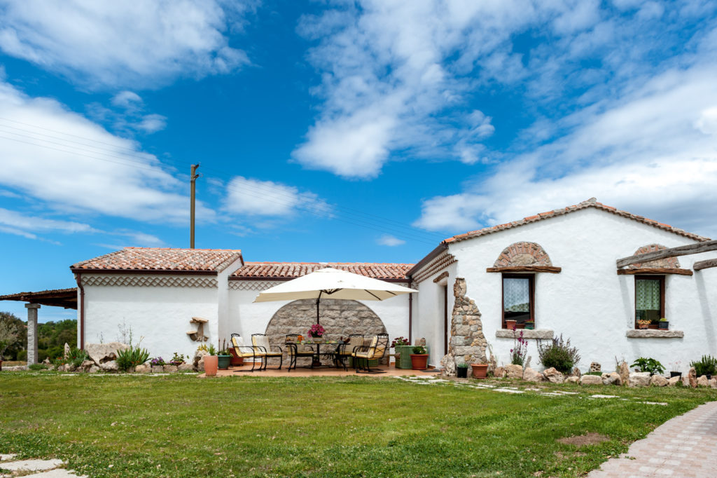 Bed and Breakfast il Cuore di Gallura: veduta laterale